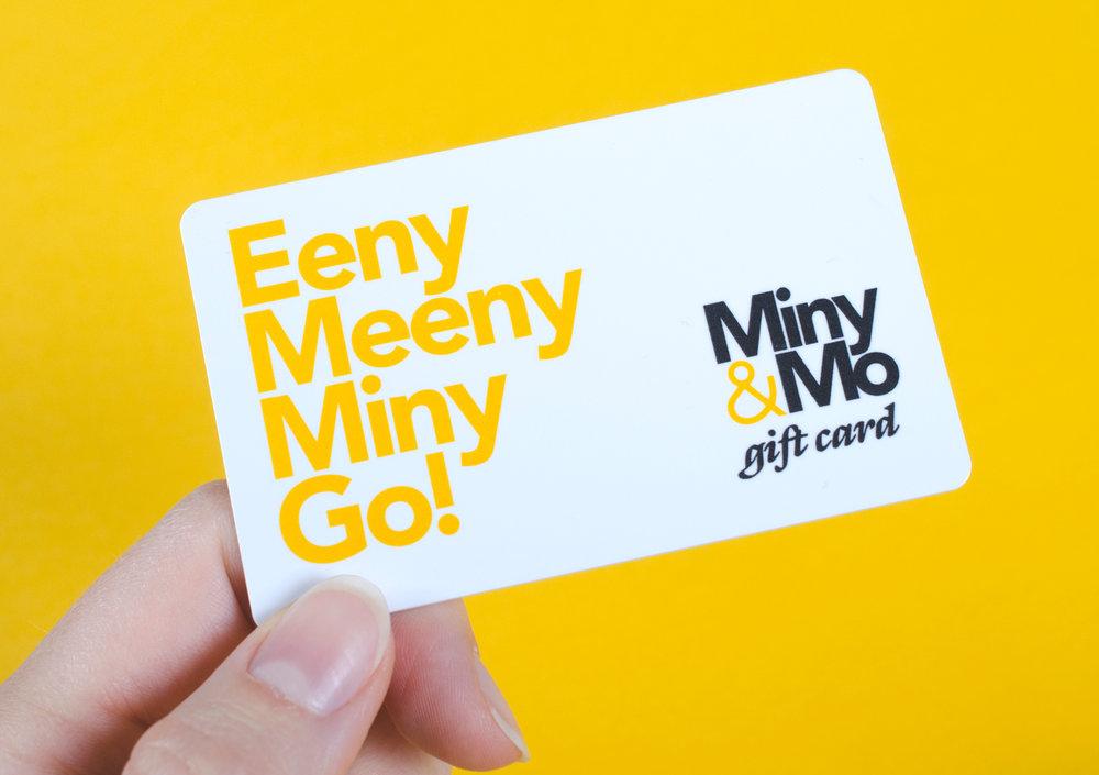 Miny&Mo gift card