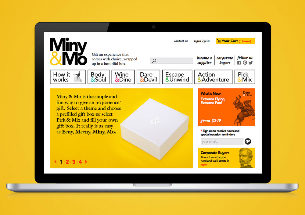 Miny&Mo website