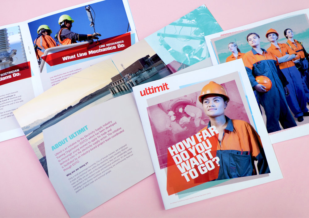 Ultimit print collateral