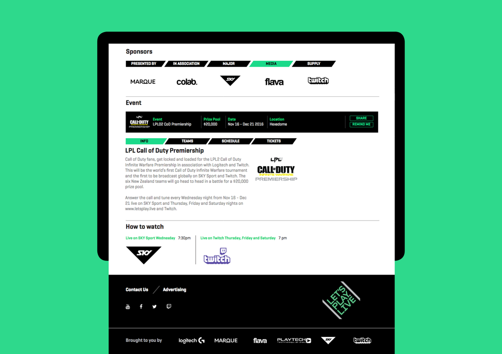 LPL website