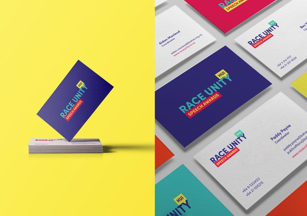 Race Unity business cards