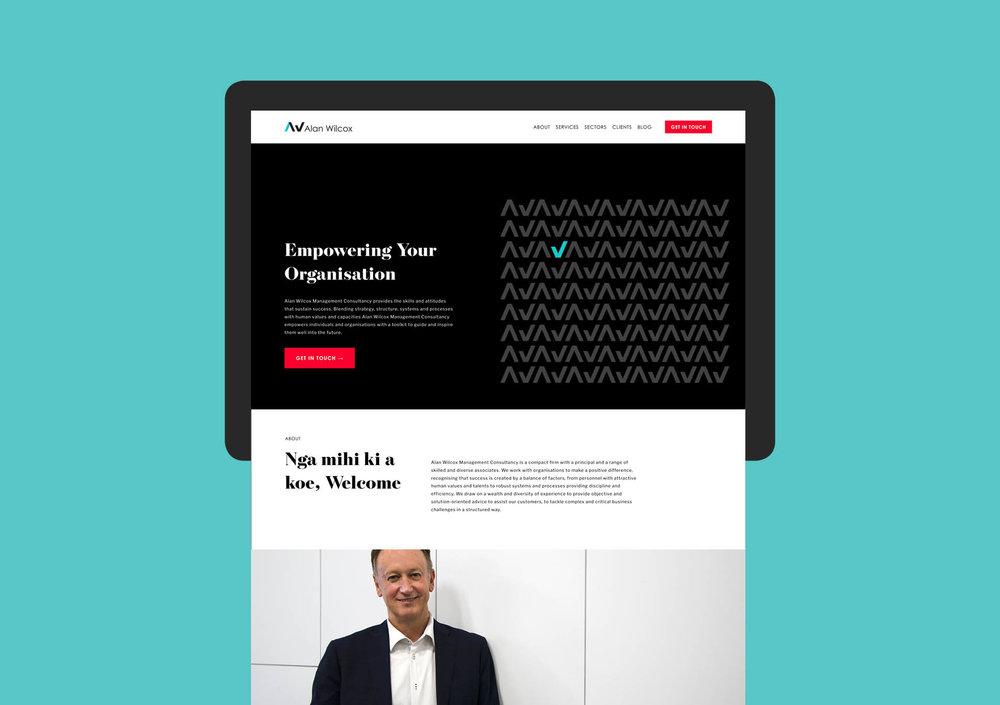 Alan Wilcox website