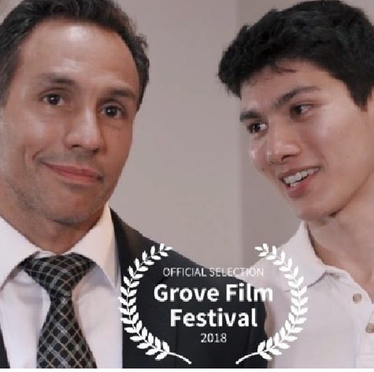 Written in one night and filmed in 10h and made it to a first festival! - Let's hope people like it…Congrats Rob, our doorman, for his best actor nomination!