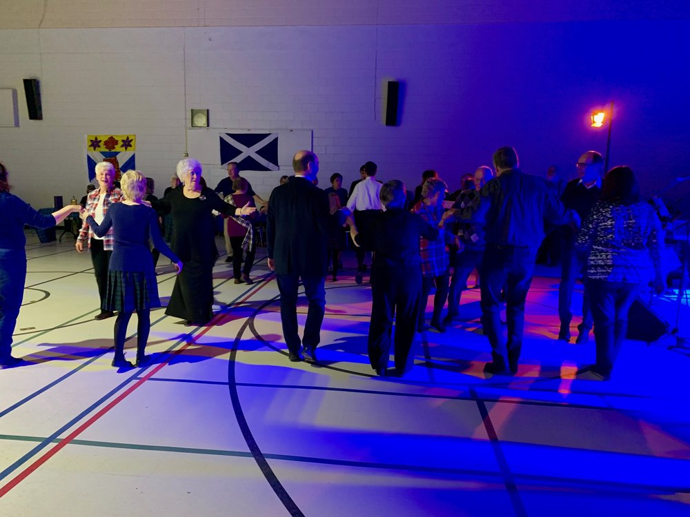 Trying out a new Ceilidh dance