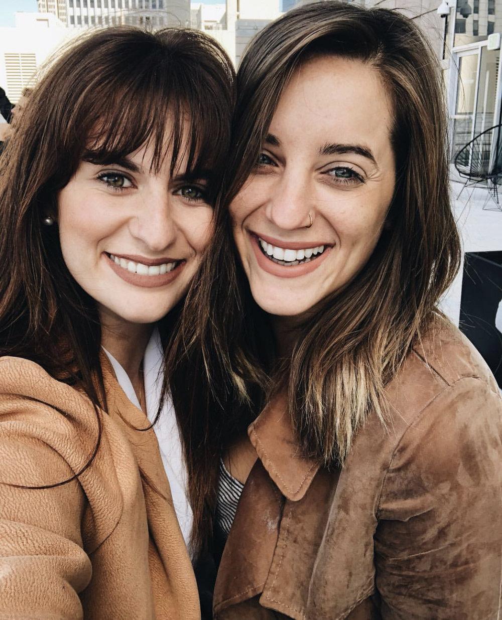 Anna and Jenna