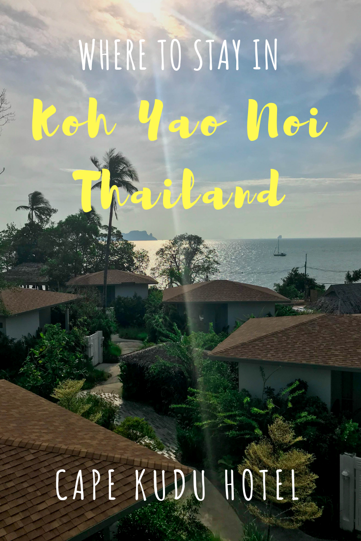 Where to stay in Koh Yao Noi, Thailand - Cape Kudu Hotel - Amazing room views