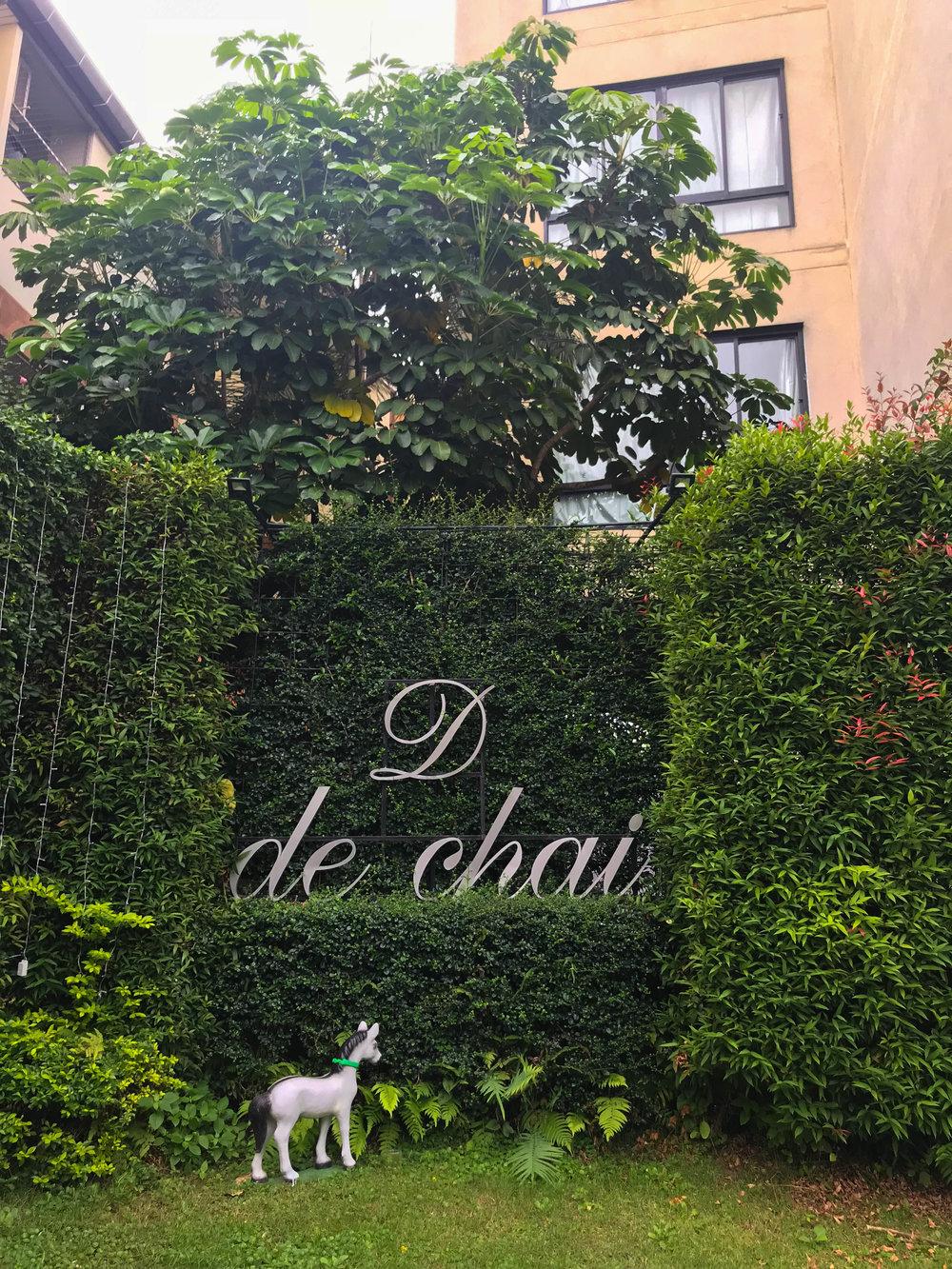 Thailand - Chiang Mai - De Chai Hotel - Front Entrance