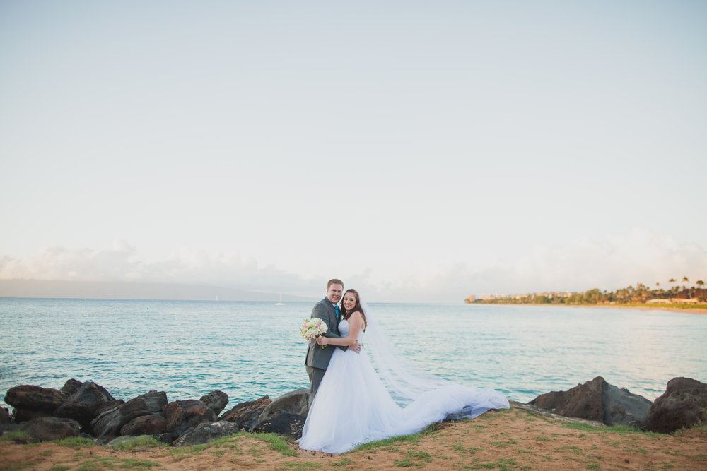 Josh and Kathleen- Maui Hawaii Destination Wedding