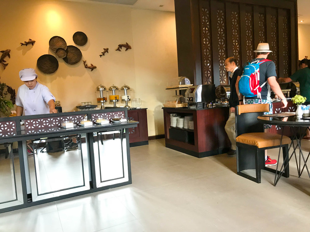 Thailand - Chiang Mai - De Chai Hotel - Restaurant Breakfast