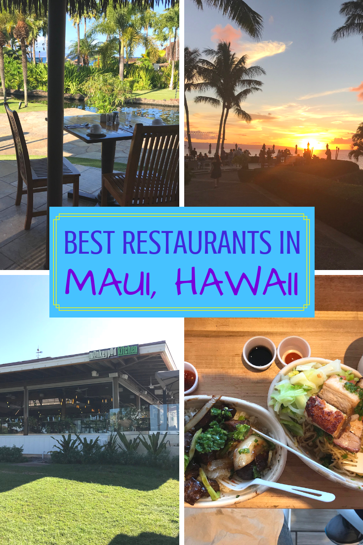 Best Restaurants in Maui, Hawaii