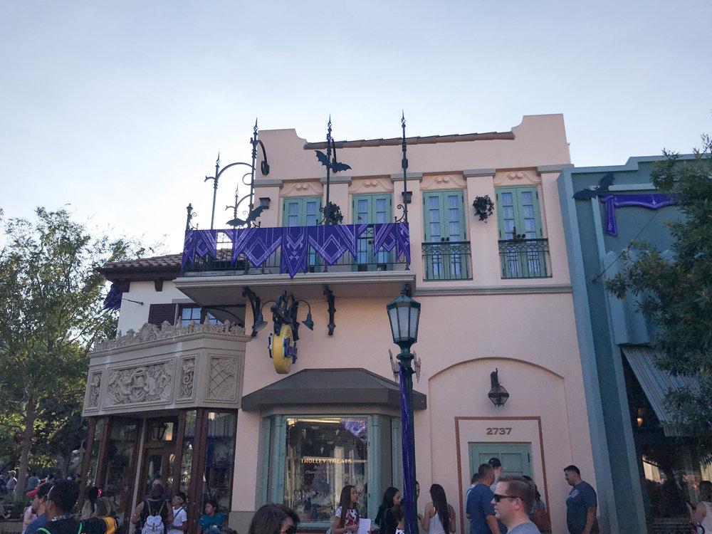 Disneyland Halloween Time California Adventure