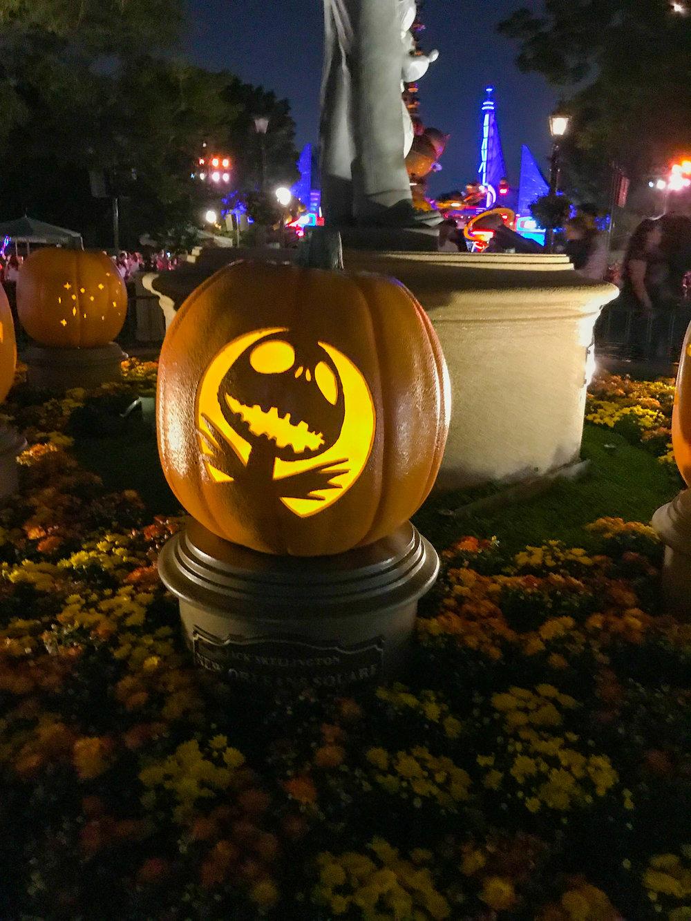 Disneyland Pumpkin Carving
