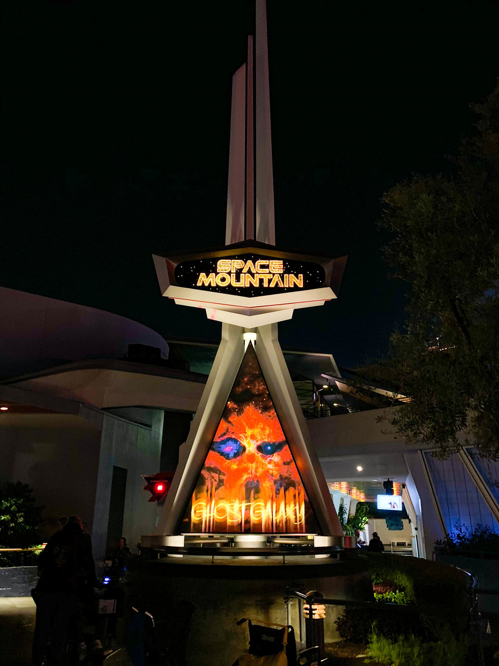 Disneyland Halloween Space Mountain Ghost Galaxy