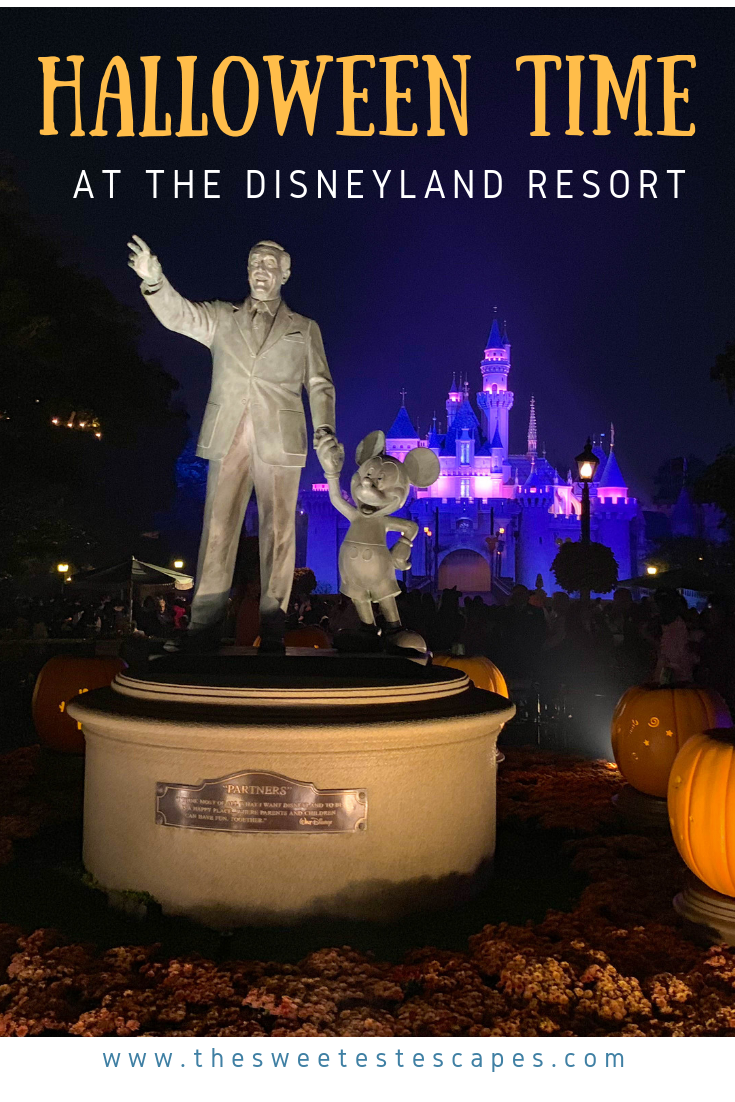 Disneyland Resort Halloween Time 2018