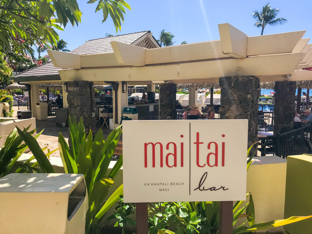 Sheraton Maui Resort and Spa Restaurant - Mai Tai Bar