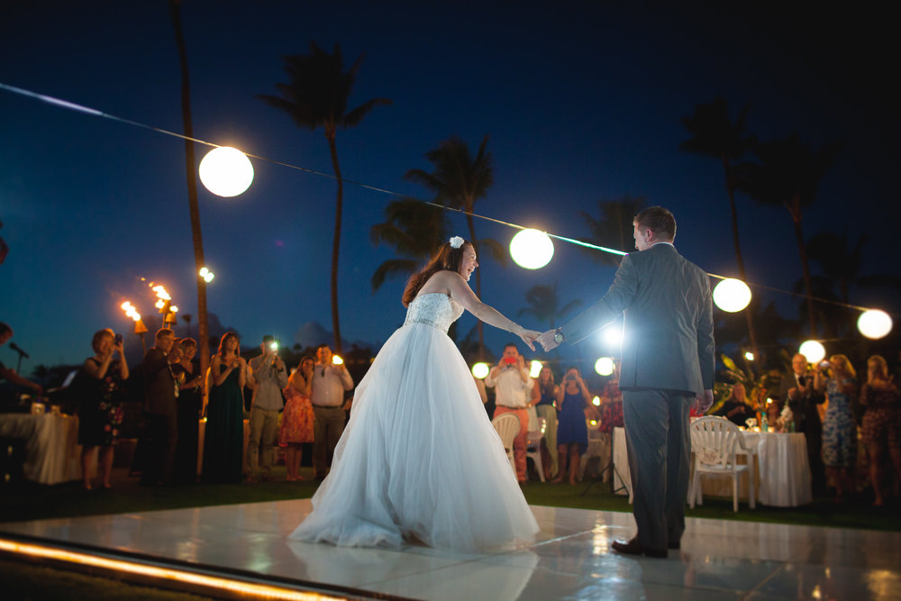 Maui Destination Wedding - Beach theme