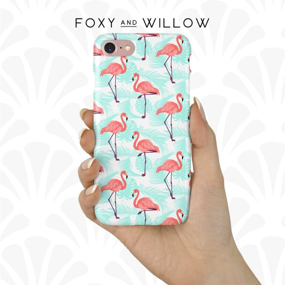 Flamingo Phone Case - Under $20 on EtsyThere are so many phone case options and designs at such a great price.