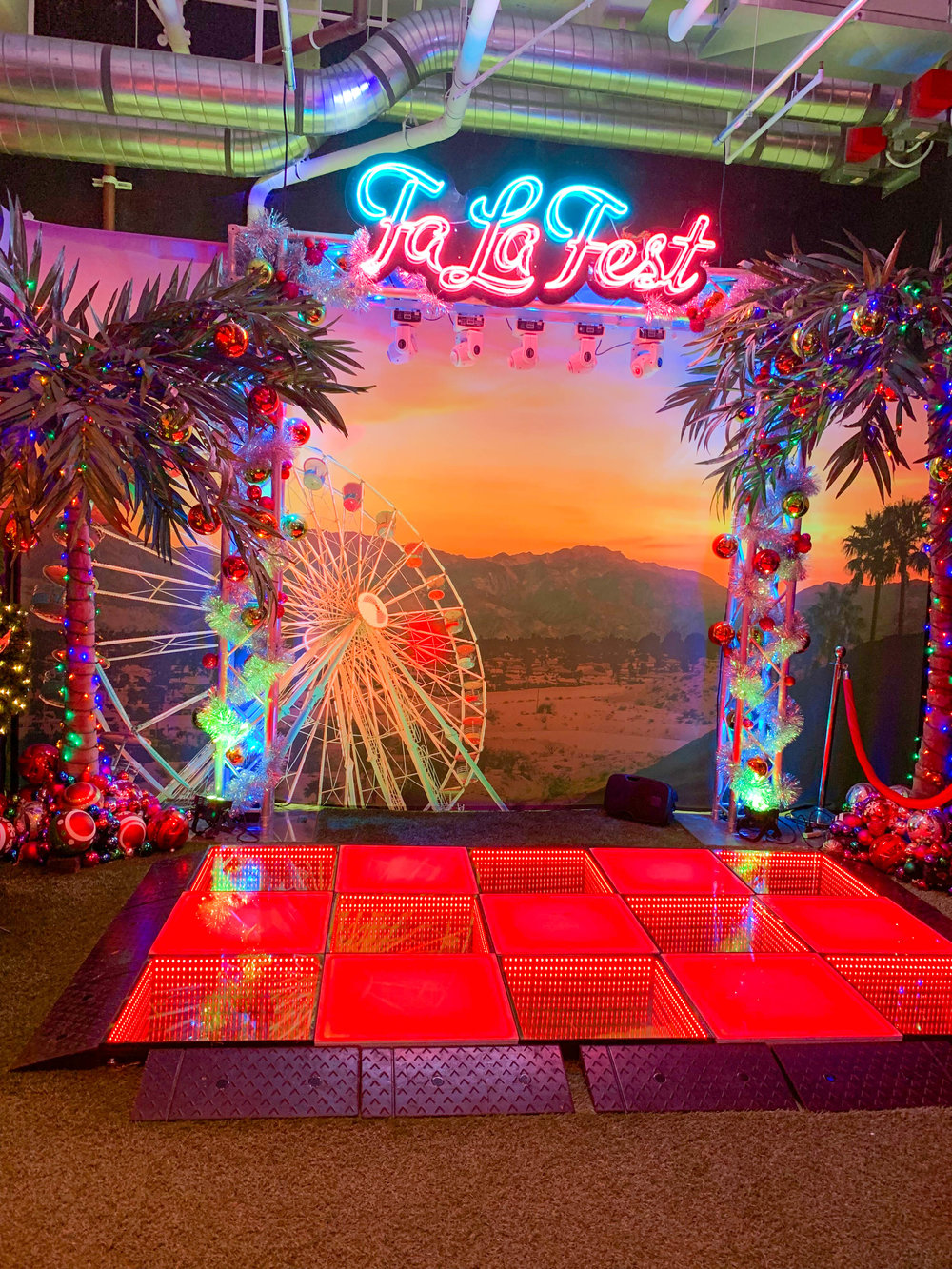 Fa La Land Pop Up Los Angeles- Fa La Fest