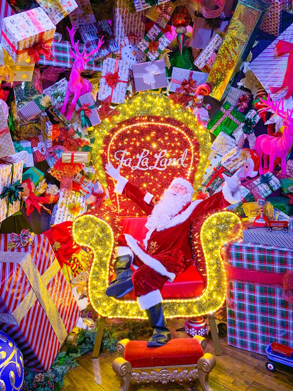 Fa La Land Pop Up Los Angeles- Santa Claus
