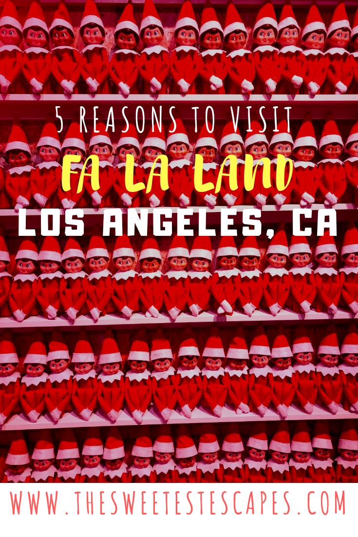 5 Reasons to Visit Fa La Land Downtown LA