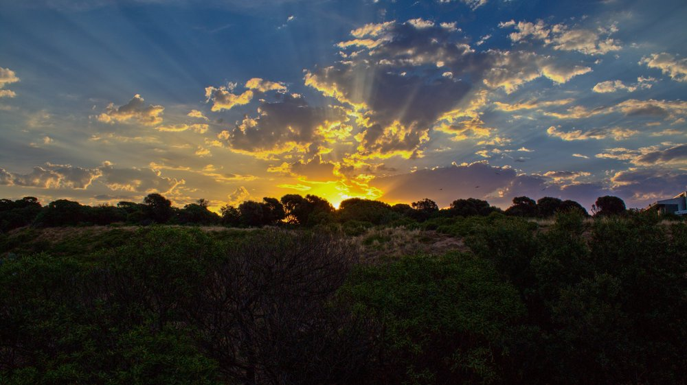 Sunset over Philllip Island, Melbourne, Australia