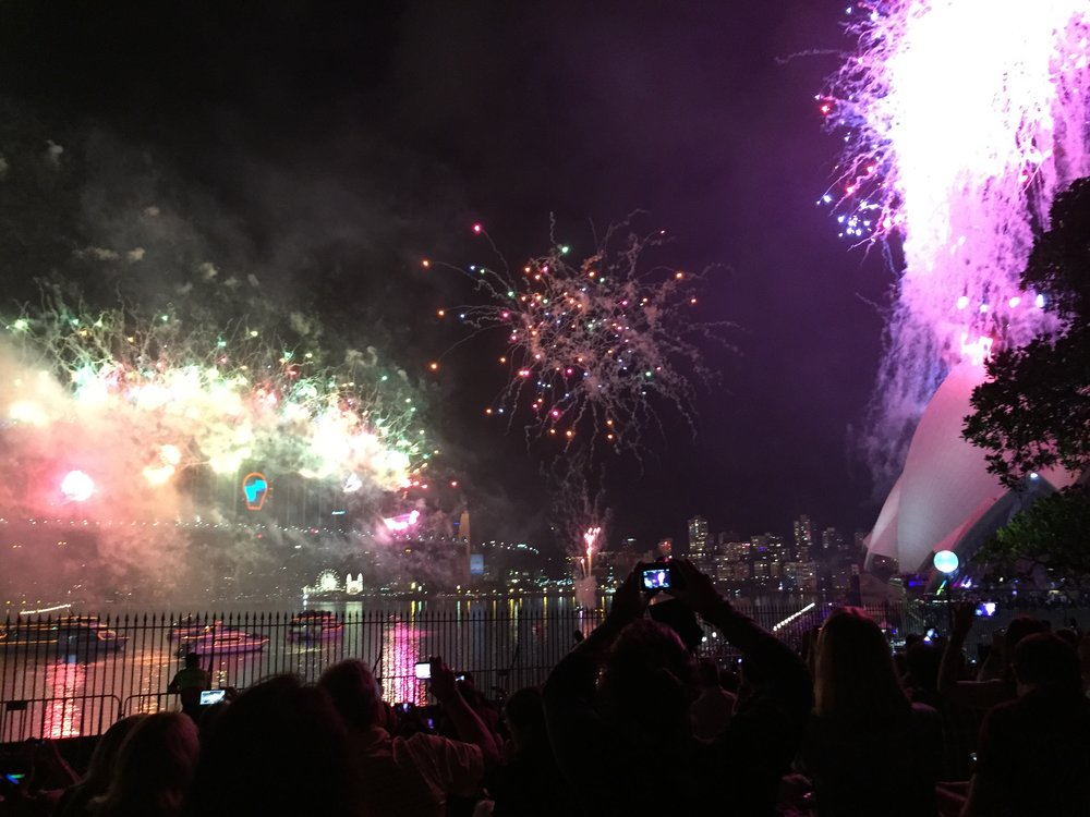 Sydney Harbor Bridge - New Years Eve Fireworks
