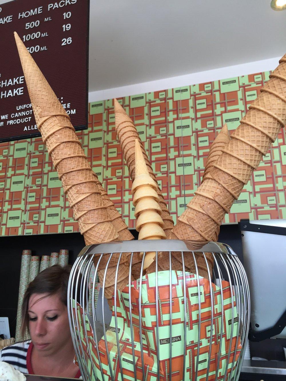 Messina Ice Cream is my favorite!