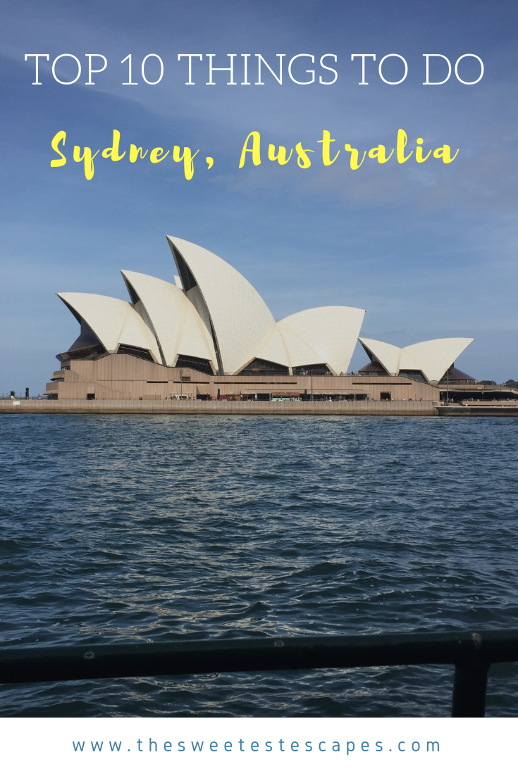 Top 10 Things to do in Sydney, Australia