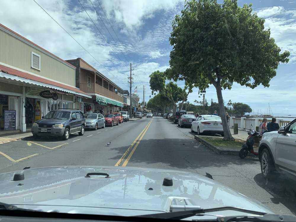 MAUI HAWAII - Lahaina Jeep Views
