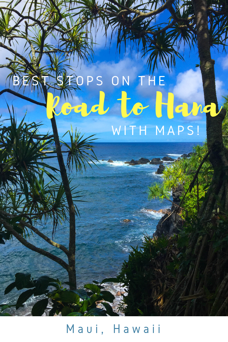Road to Hana - Best Stops with Maps - Maui Hawaii