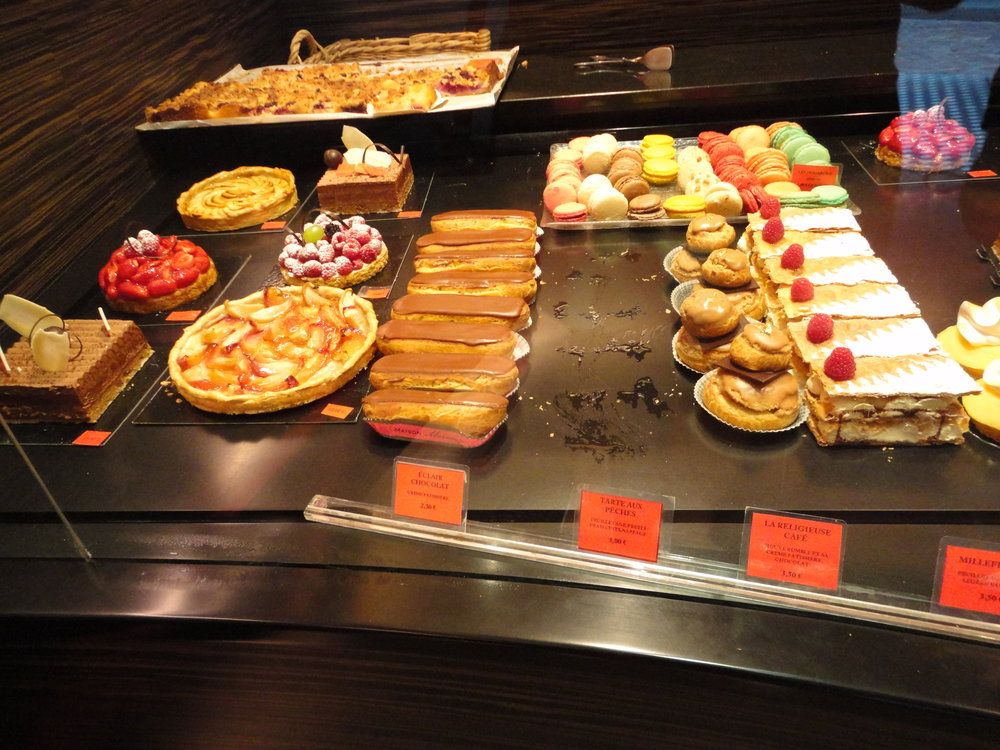 French Pastries and breakfast