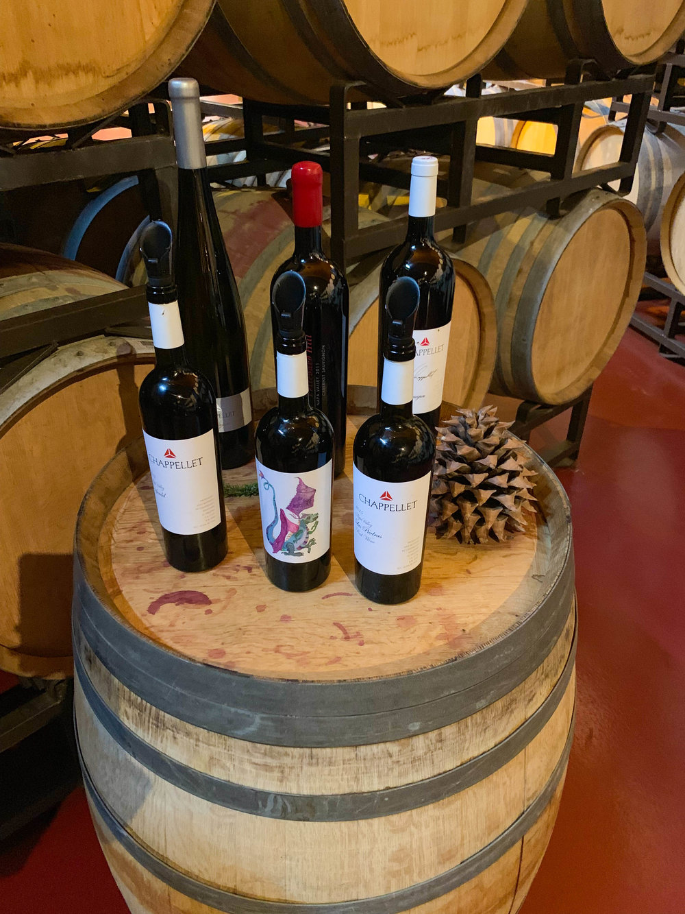 Chappellet Wine Tasting - Napa and Sonoma