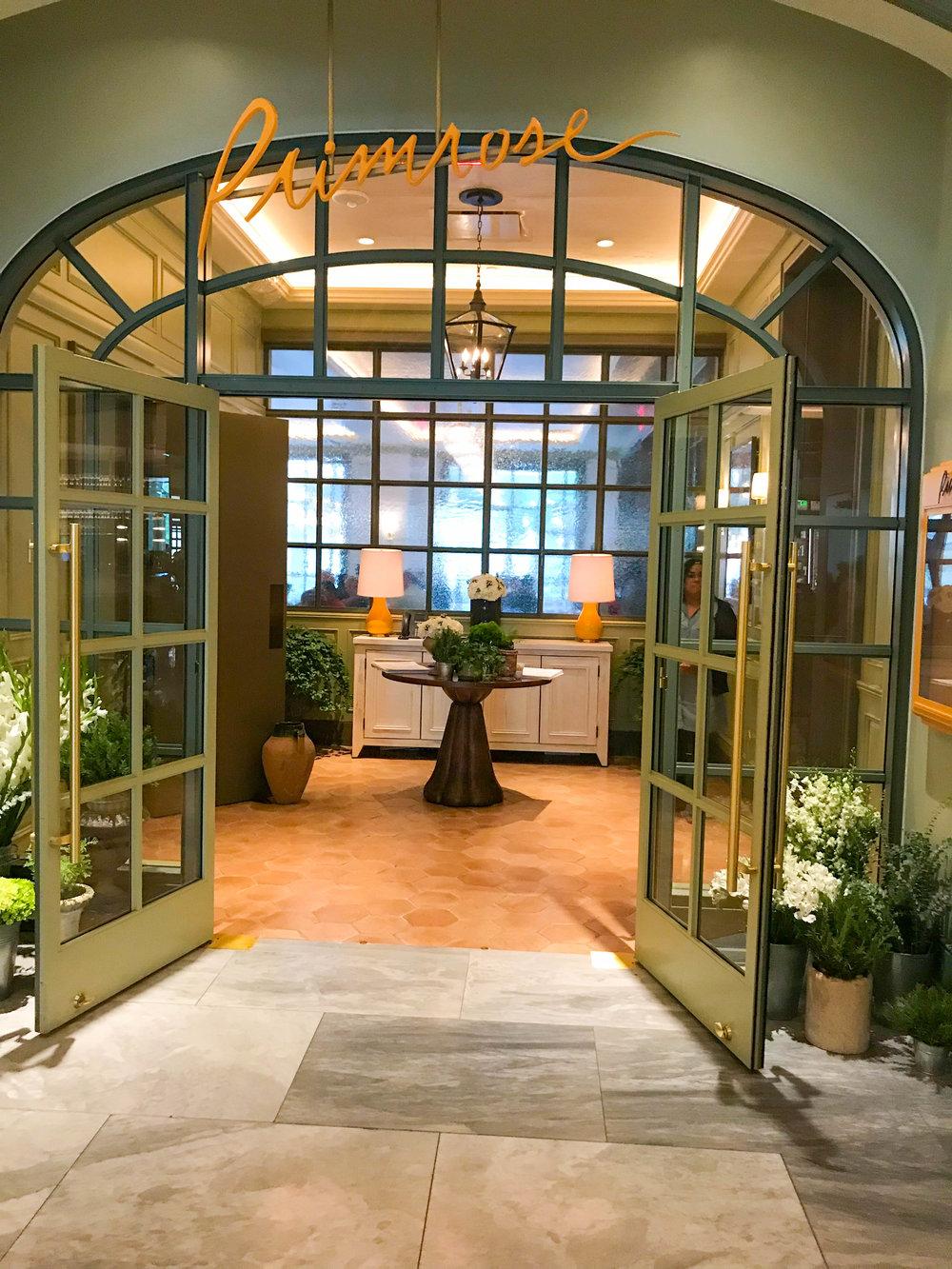 Primrose Park MGM Restaurant