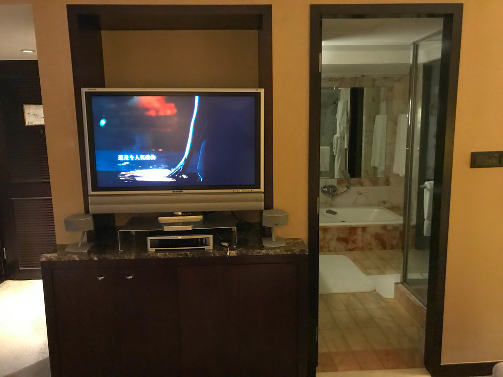 Hong Kong Intercontinental inside the Hotel room