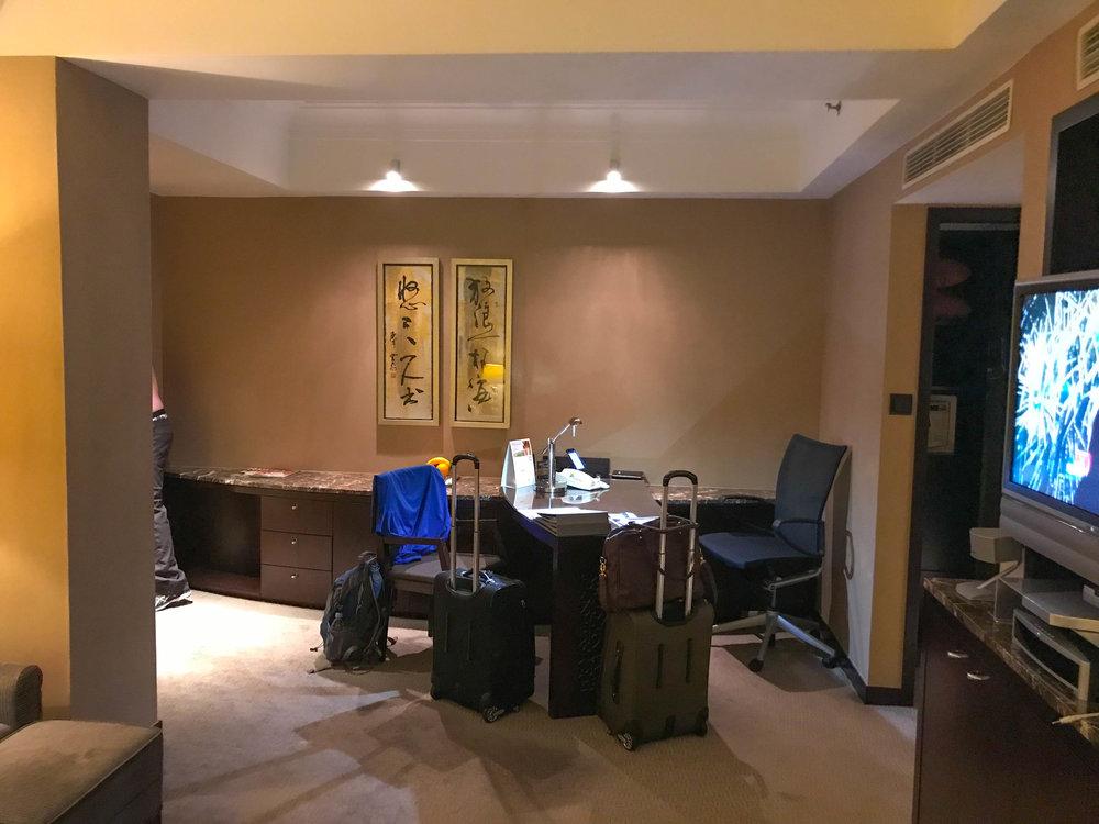 Hong Kong Intercontinental Hotel room