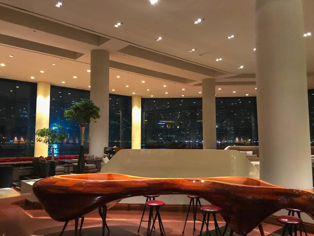 Hong Kong Intercontinental Lobby
