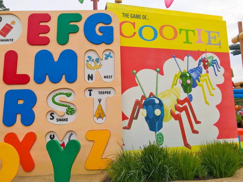 Hong Kong Disneyland - Toy Story Land Cootie