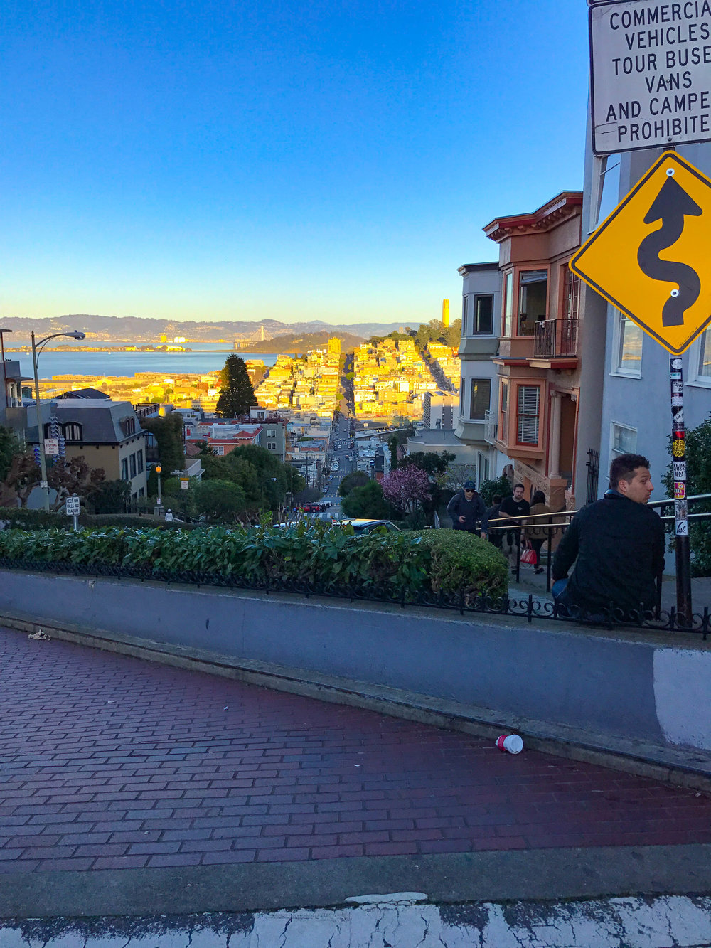 Lombard Street - Things to do in San Francisco