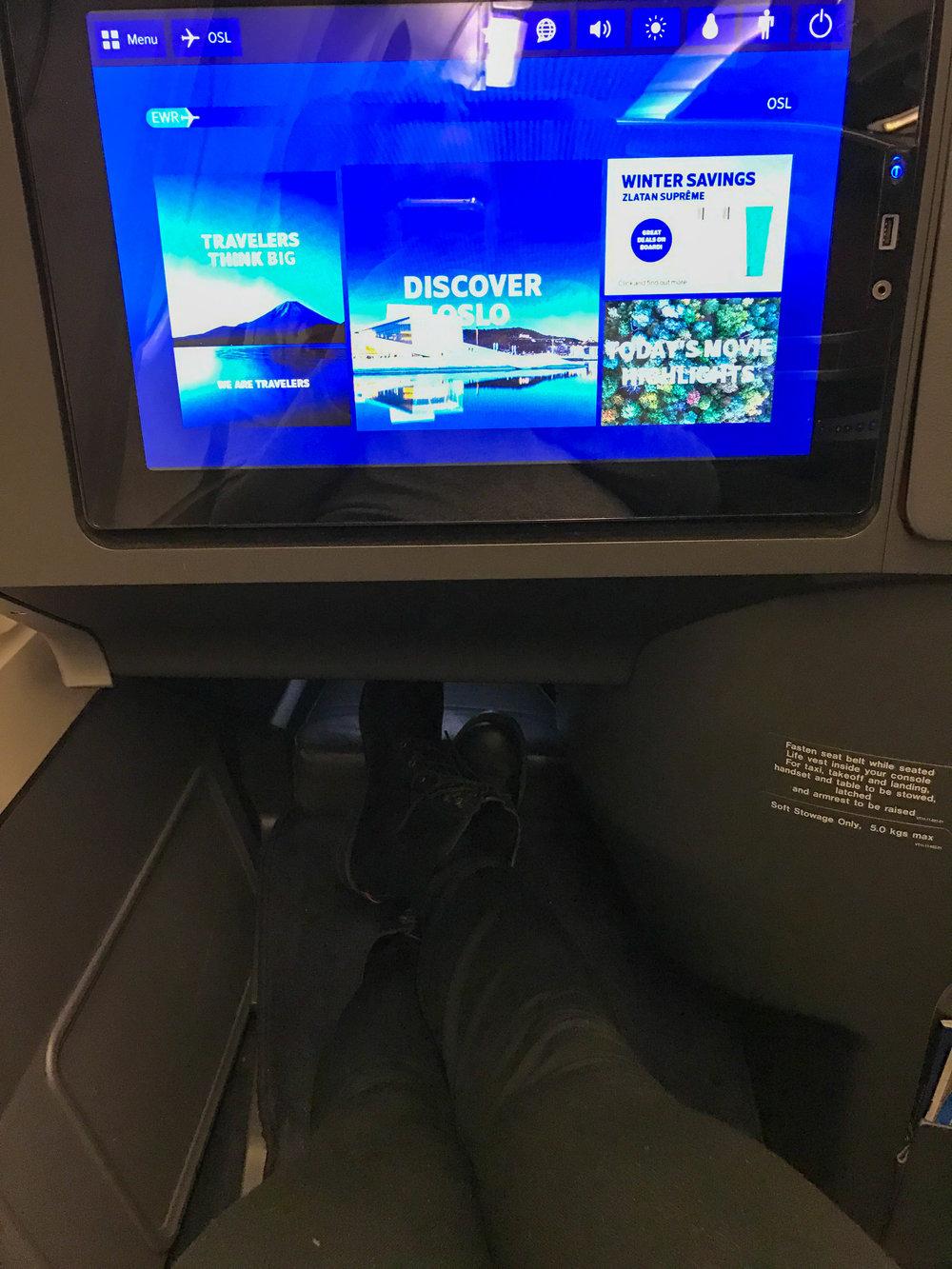 Norway SAS Flight Entertainment