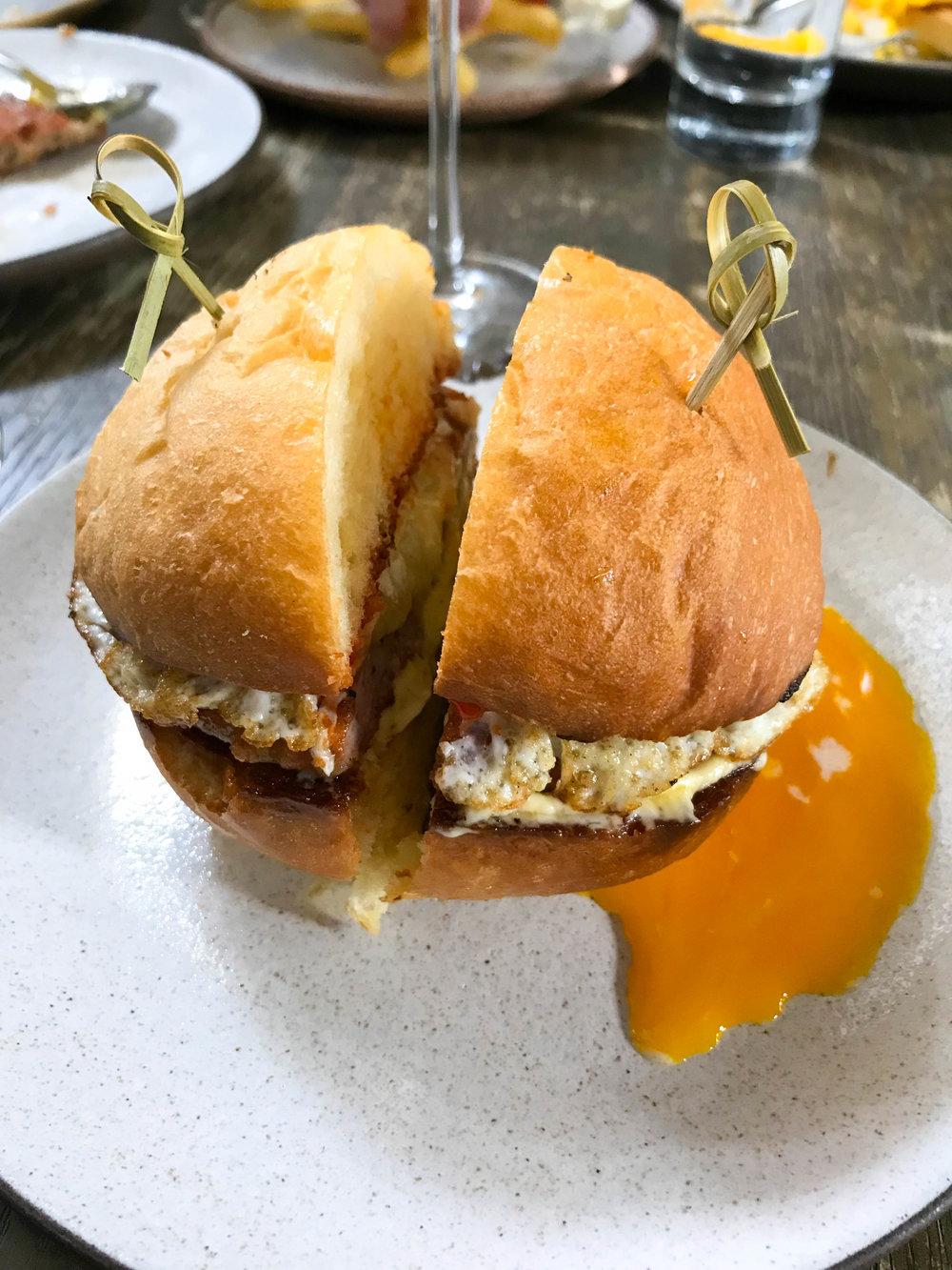 Norah Brunch Breakfast Sandwich