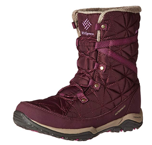 Columbia Loveland Snow Boots - Comes in various colors and can be found on AMAZON around $100! What a deal!