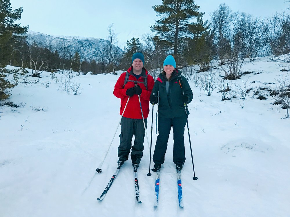 Clothing we wore in the Snow in Norway