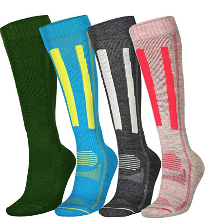 Alpine Thermal Performance Socks Merino Wool for Winter - Different color options and unisex! Starting at $12 on AMAZON
