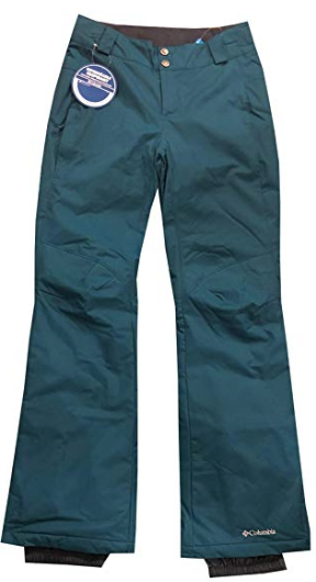 Columbia Womens Arctic Trip Omni-Tech Ski/Snow Pants - Omni-Tech-Breathable and Waterproof. Comes in various colors. Starting at $70 on AMAZON