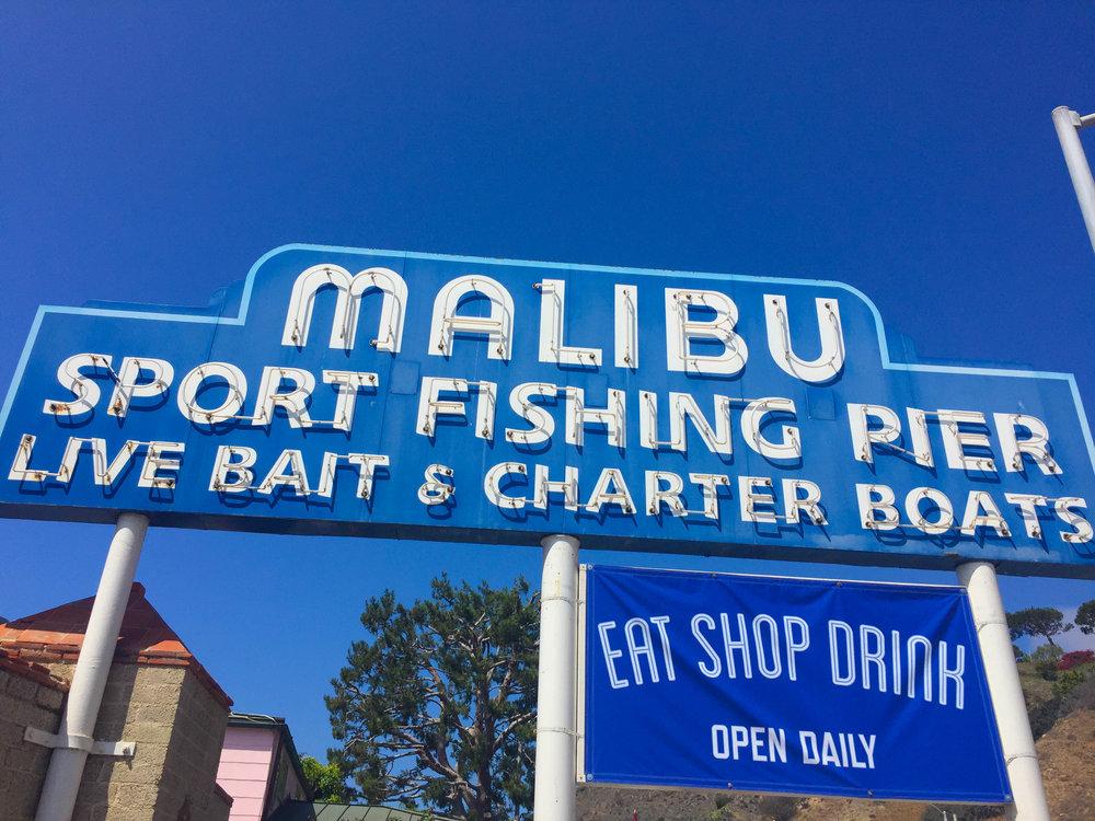Malibu Farm Brunch Spot on the pier