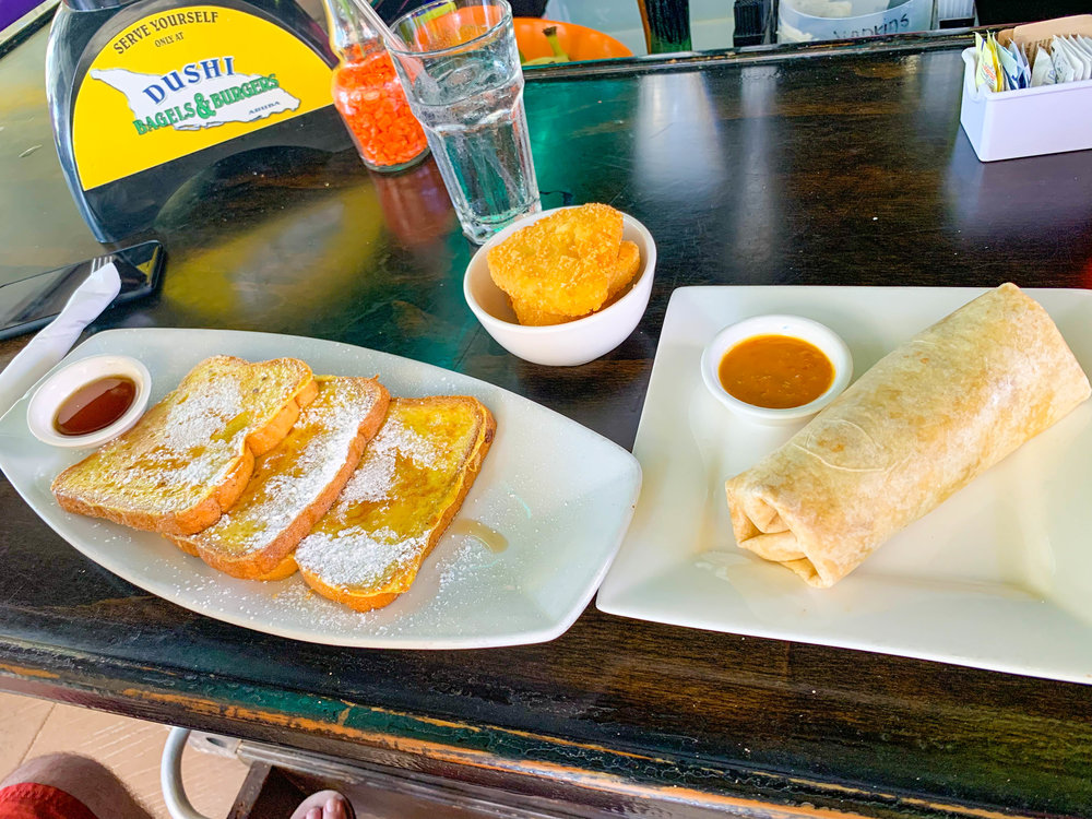 Dushi Bagels and Breakfast in Aruba