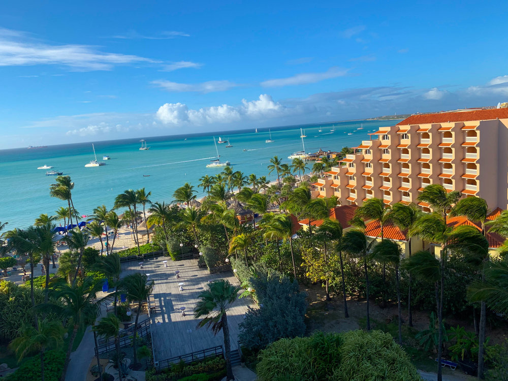 Hyatt Regency Resort Bedroom Views