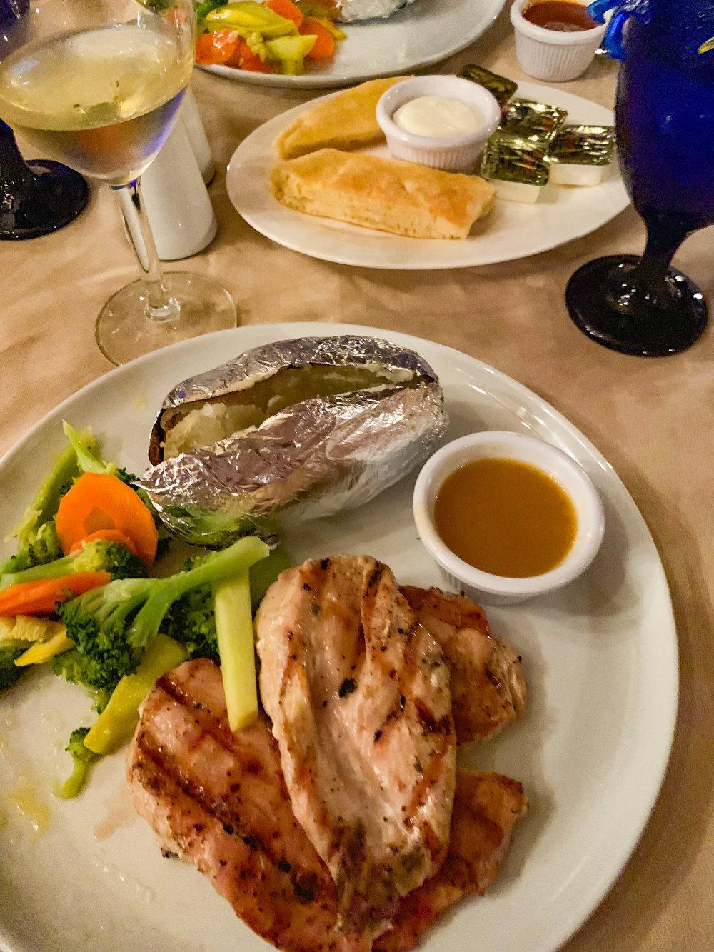 Driftwood Aruba Downtown Dinner - Chicken