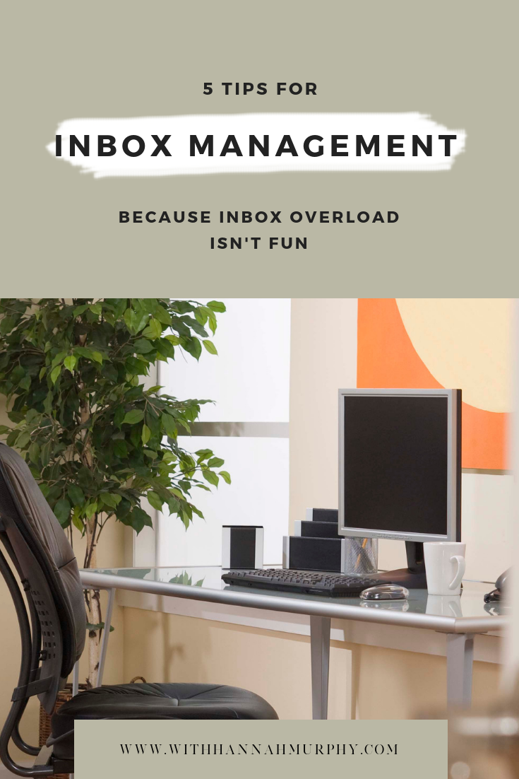 Inbox management can take a lot of time out of your day if you are spending forever on it, want to learn how to spend less time in your inbox with these tips and tools? Check out this post to find out more