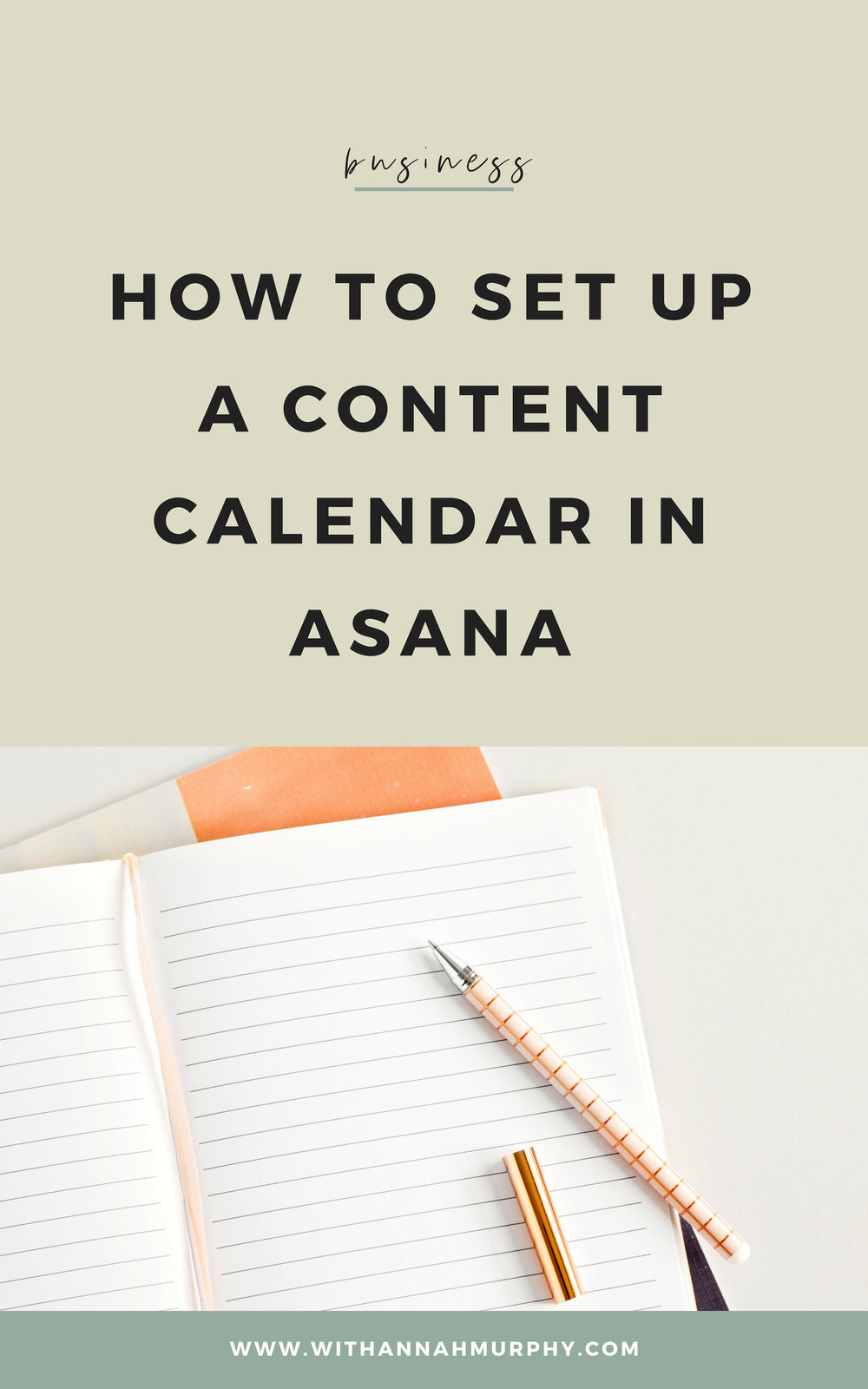 Wondering how to set-up your content calendar with a system that is easier to follow? Here's how I use Asana to take the overwhelm out of the content creation process.